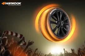 Be one with it. Hankook Tire, An official partner of the UEFA Europa League.